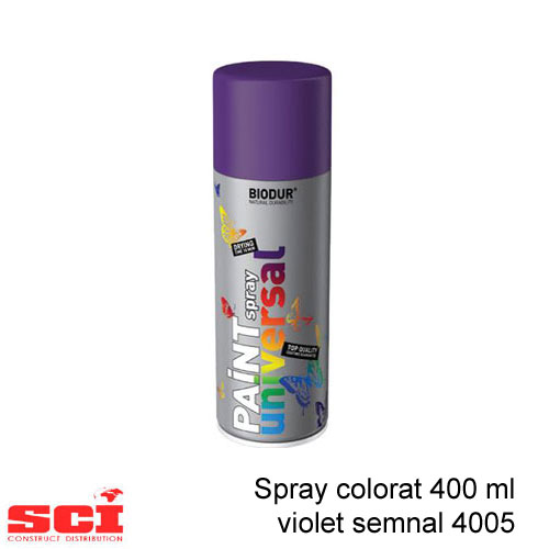 Spray colorat 400 ml violet semnal