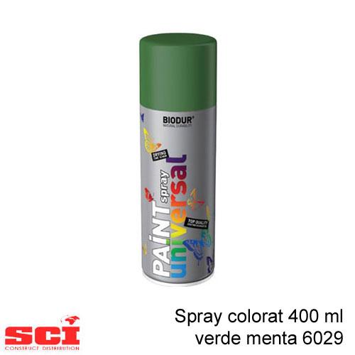 Spray colorat 400 ml verde menta