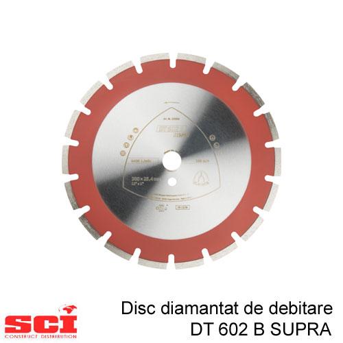Disc diamantat de debitare Klingspor DT 602 B, 450 x 3,7 x 25,4 mm, 26 Segmente