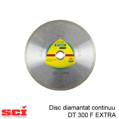 Disc diamantat  Klingspor DT 300 F Extra, 125 x 1,6 x 22,23 mm