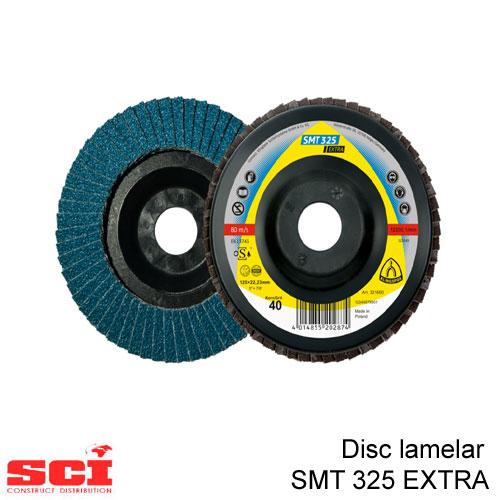 Disc lamelar Klingspor SMT 325, 115 x 22,23 mm granulatie 80
