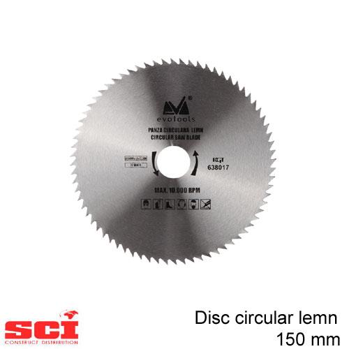 Disc circular lemn 150