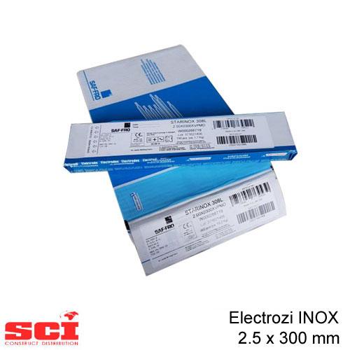 Electrozi sudura INOX 2.5 x 300 mm