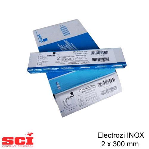 Electrozi sudura INOX 2 x 300 mm