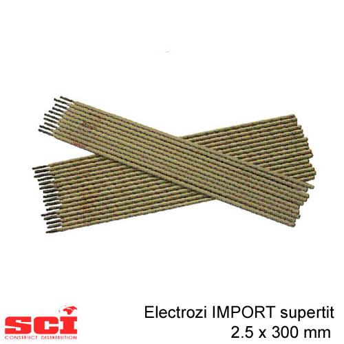 Electrozi sudura IMPORT supertit 2.5 x 300 mm