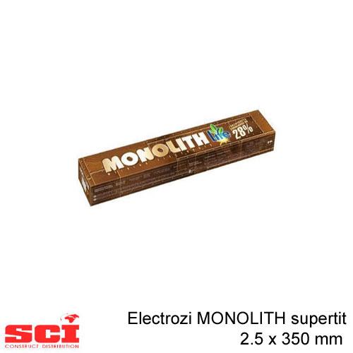 Electrozi sudura MONOLITH supertit 2.5 x 350 mm