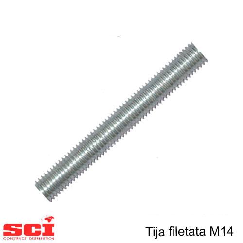 Tija filetata M14