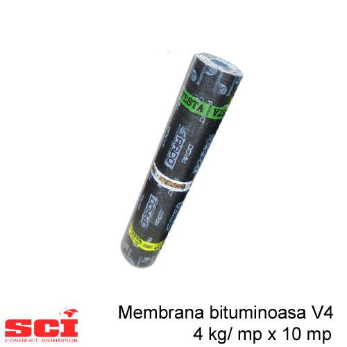 Membrana bituminoasa V4, 4 kg/ mp x 10 mp