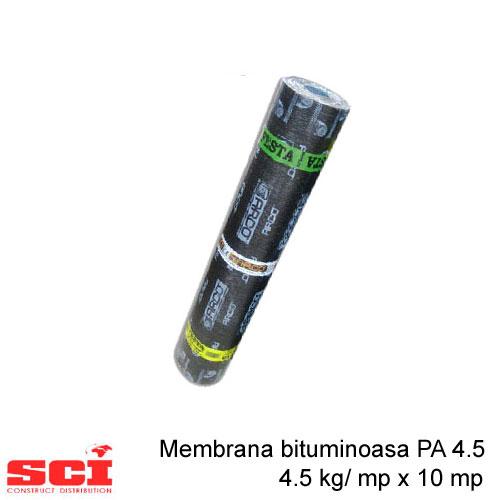 Membrana bituminoasa PA4.5, 4.5 kg/ mp x 10 mp