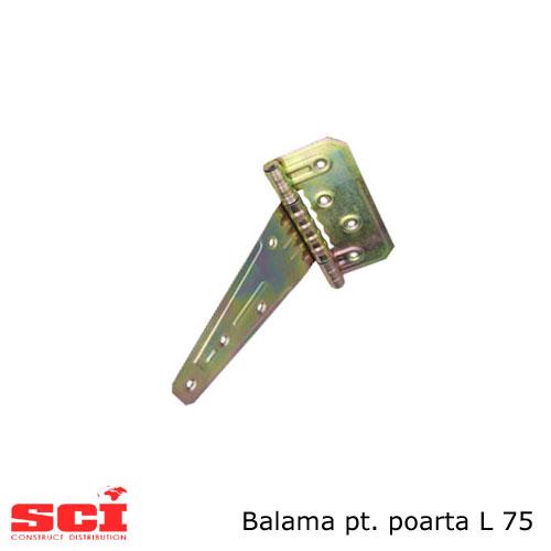Balama pentru poarta L75 mm