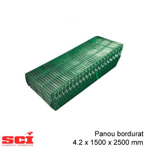 Panou bordurat verde 4.2 x 1500 x 2500 mm