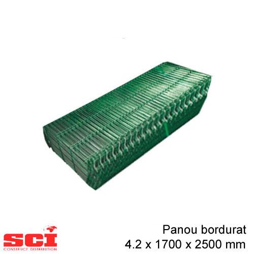 Panou bordurat verde 4.2 x 1700 x 2500 mm