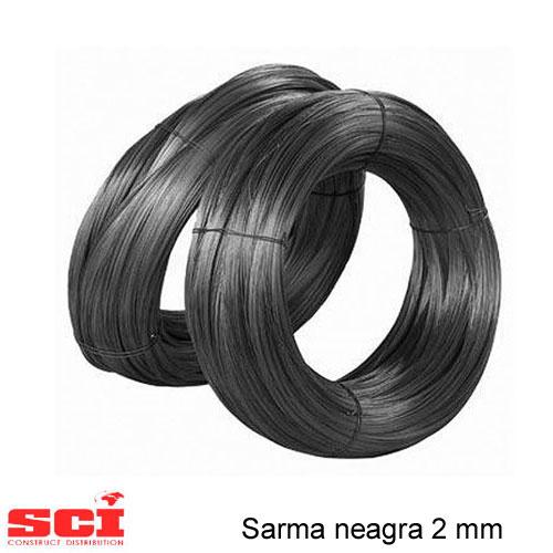Sarma neagra 2.0 mm