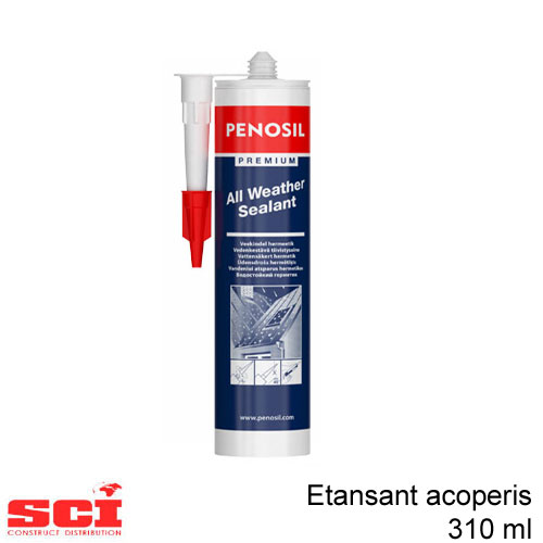 Etansant acoperis transparent 310 ml Penosil