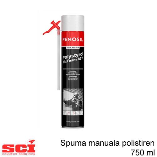 Spuma polistiren manuala 750 ml Penosil