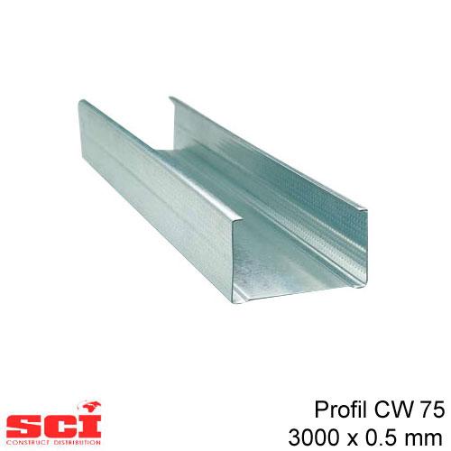 Profil CW 75 3000 x 0.5 mm