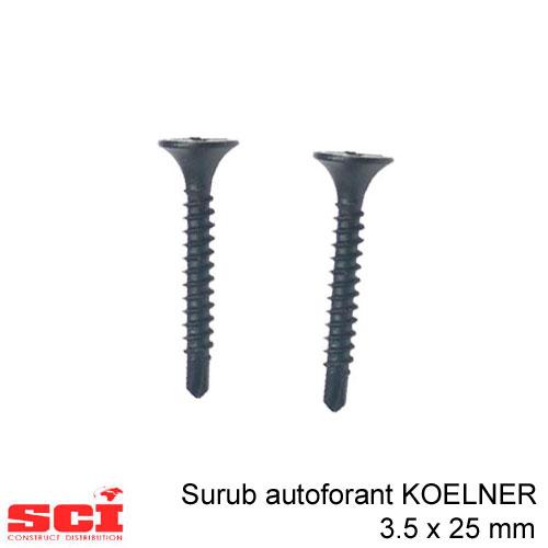 Surub autoforant 3.5 x 25 mm KOELNER