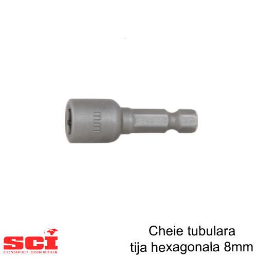 Cheie tubulara tija hexagonala 8 mm
