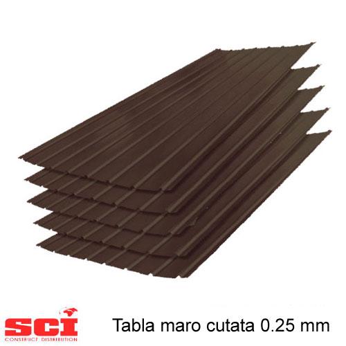 Tabla maro cutata 0.25 mm