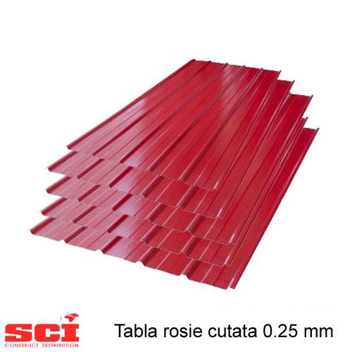 Tabla rosie cutata 0.25 mm