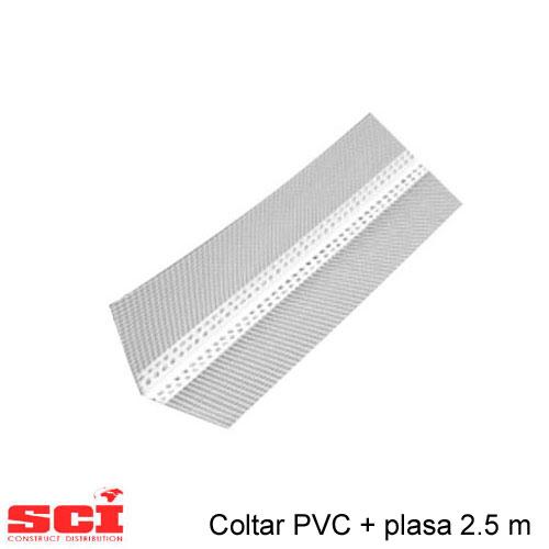 Coltar PVC + plasa 2.5 m