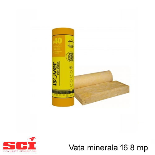 Vata minerala 16.8 mp Isover