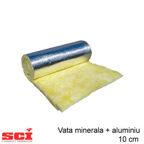 Vata minerala cu aluminiu 10 cm
