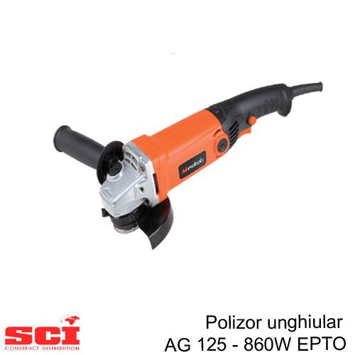 Polizor Unghiular AG 125 - 860W EPTO